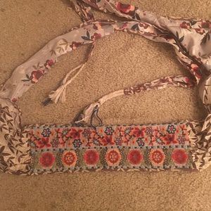 Authentic Johnny was belt head band one size